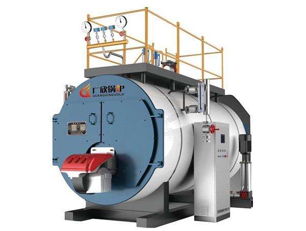 WNS卧式燃油(气)蒸汽锅炉